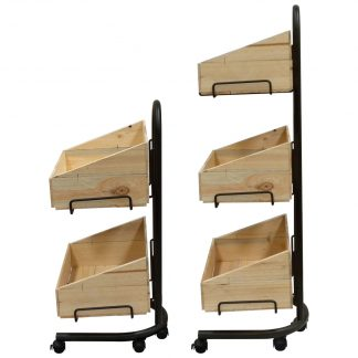Rustic Crate Stand Sets