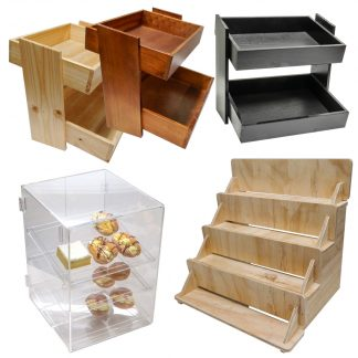 Bakery Wooden Crates & Baskets