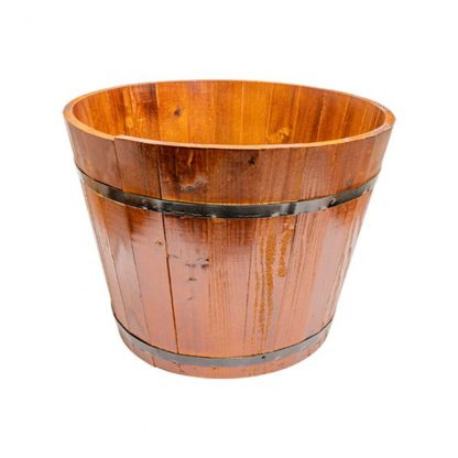 500mm diameter wooden barrel - cherry pine