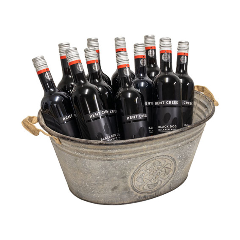 Galvanised Tubs For Wine & Spirits
