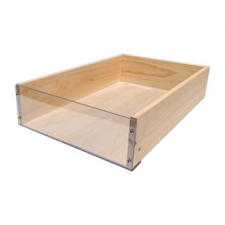 Clear Fronted Crates for Bakery