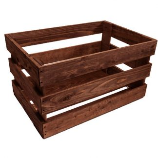 Slat Sided Crates for Catering