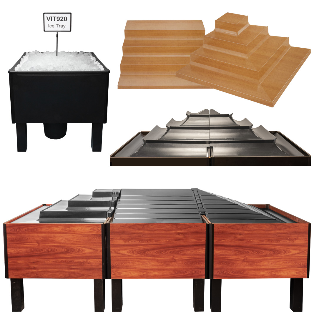 Produce Bins, Tops & Accessories