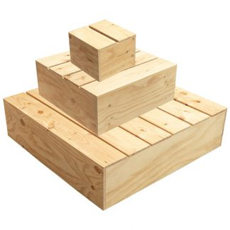 Produce Wooden Display Platforms