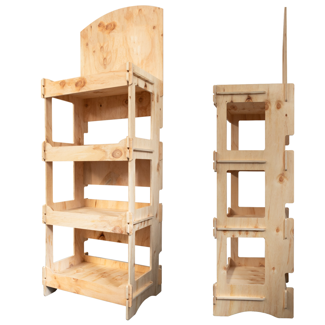 Wooden Display Units for Florists