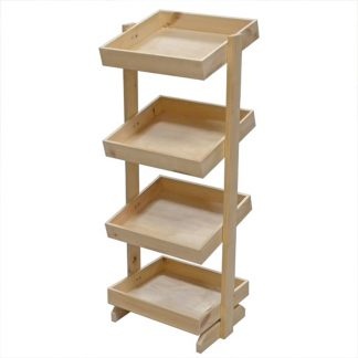 Wooden Shelf Stands For Bakery
